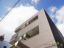 大阪府大阪市住之江区新北島3丁目の賃貸アパートの外観