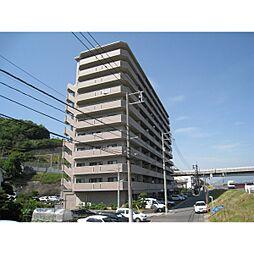 広島県広島市西区竜王町の賃貸マンションの外観