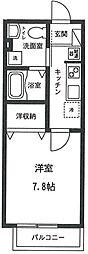 アビテ大倉山[201号室号室]の間取り