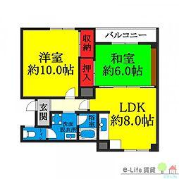 針中野駅 6.8万円