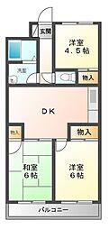 サニーヒルタカハシ[2階]の間取り