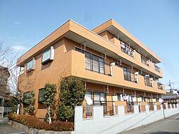 東京都日野市大坂上4丁目の賃貸マンションの外観