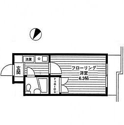 エルスタンザ相模大野[2階]の間取り