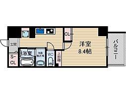 グラン長久茨木[7階]の間取り