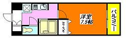 グラン・ドゥ・ルイ806号室[8階]の間取り