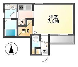 (仮称)Cherim黒川志賀町[2階]の間取り
