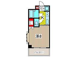 戸田公園ステイタス[2階]の間取り