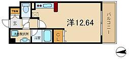 パレフルール[305号室]の間取り