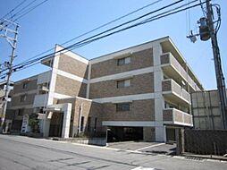 京都府京田辺市草内上リ立の賃貸マンションの外観