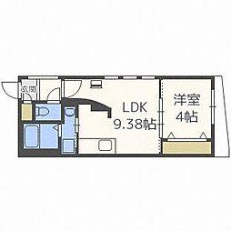 HUGA PREMIUM SUITE[4階]の間取り