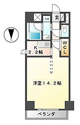 エスフォート葵一丁目[5階]の間取り