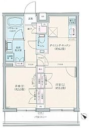 ロアール豊島長崎[4階]の間取り