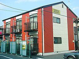 栃木県宇都宮市塙田4丁目の賃貸アパートの外観