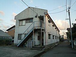 須賀コーポラス[202号室]の外観