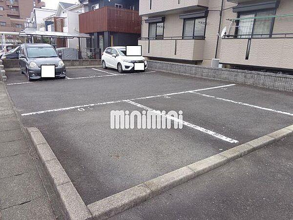 ホープタウンの駐車場スペース