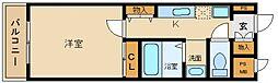 a la mode Hineno[3階]の間取り