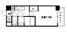 S-RESIDENCE新大阪駅前[4階]の間取り