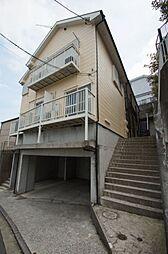 神奈川県横浜市港北区篠原北1の賃貸アパートの外観