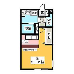 LUORE名駅[2階]の間取り