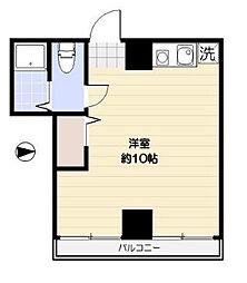 ベルデ浅草[2階]の間取り