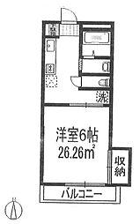日関パレス[2階]の間取り