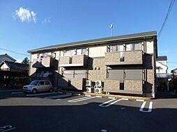 埼玉県川越市小仙波町3丁目の賃貸アパートの外観