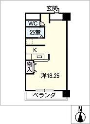 ひまわりやなべ[2階]の間取り