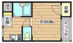 第2メゾンいずみ[2階]の間取り