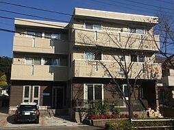 東京都八王子市別所1丁目の賃貸アパートの外観