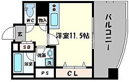 ジョイパーク鶴見[7階]の間取り