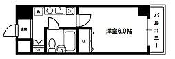 エスリード新大阪[8階]の間取り