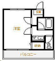 Amico淀川[202号室]の間取り