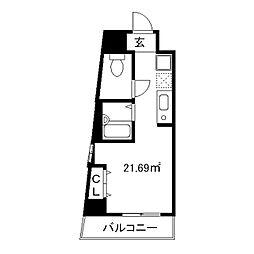 OAK HOUSE[403号室]の間取り