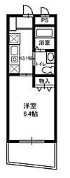 神奈川県鎌倉市岡本2丁目の賃貸マンションの間取り