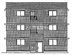 (仮)D−room白石西新町A棟[3階]の外観