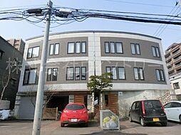 北海道札幌市中央区北三条西24丁目の賃貸アパートの外観