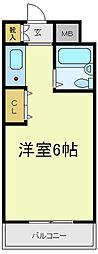 アベノ寿ビル[5階]の間取り