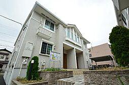 愛知県名古屋市中川区万場3丁目の賃貸アパートの外観