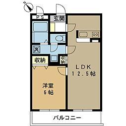 ブレッドハウス[3階]の間取り