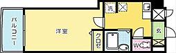 KMマンション北九大前[9階]の間取り