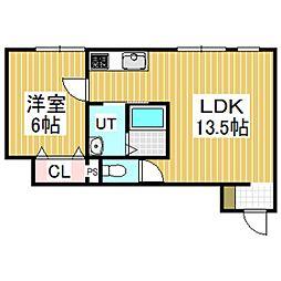 La luce KIBA[1階]の間取り