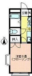 カーサベルデ[2階]の間取り