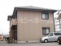 兵庫県たつの市揖西町小神の賃貸アパートの外観