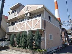 愛知県名古屋市中川区烏森町字四反畑の賃貸アパートの外観