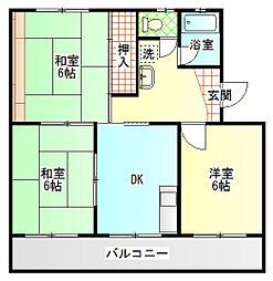 嘉悦マンション[2階]の間取り