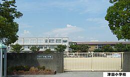 津田小学校 360m
