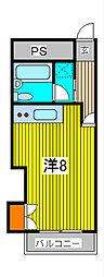 信和マンション[3階]の間取り