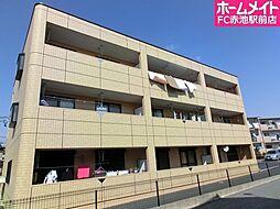 愛知県豊明市阿野町稲葉丁目の賃貸マンションの外観