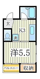 アネックスU[2階]の間取り