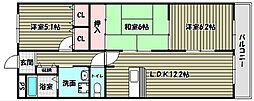 グレイスコート・アイ[1階]の間取り